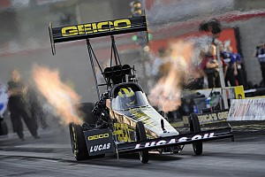 NHRA Qualifying report  Lucas sets national  elapsed time record in Reading