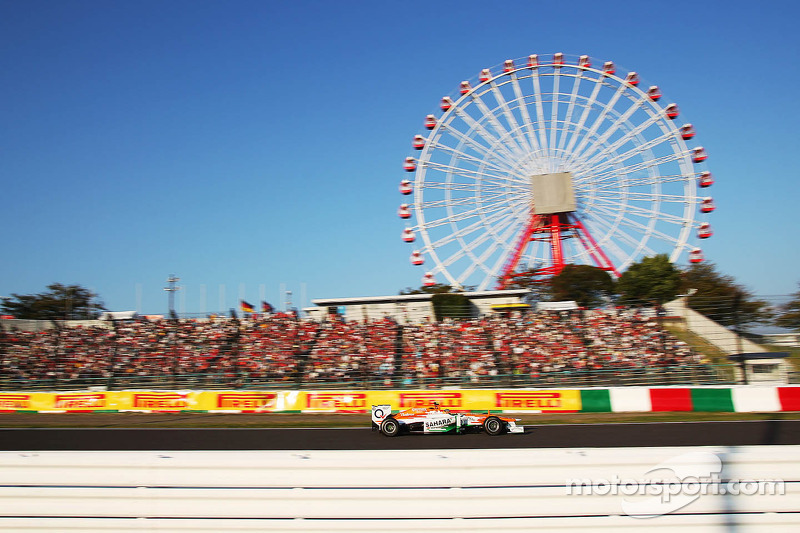 Sahara Force India picked up six points in Japanese Grand Prix