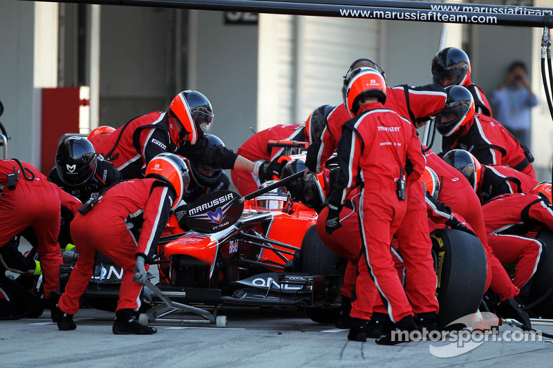 Glock delivered a gritty drive for Marussia in Japanese GP