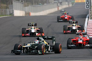 Petrov finished ahead Kovalainen on Caterham private battle in Korea