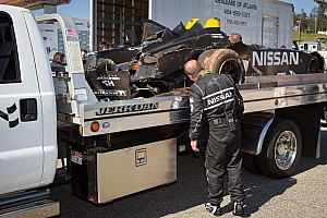 ALMS Testing report Muscle Milk Pickett, Corvette top testing at Road Atlanta