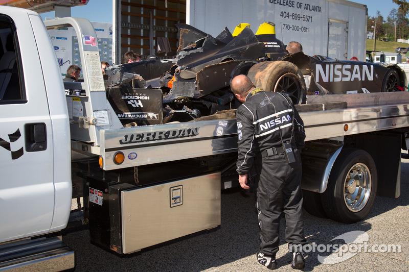 Muscle Milk Pickett, Corvette top testing at Road Atlanta