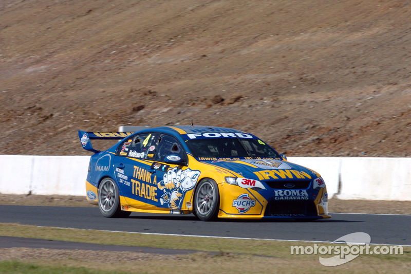 Even after extensive crash IRWIN Ford will  race Sunday at Gold Coast