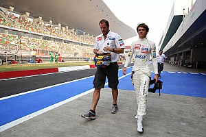 Formula 1 Breaking news Gutierrez steps in for unwell Perez in practice