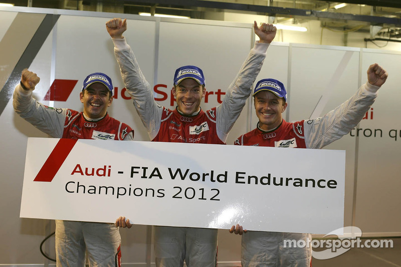 Fässler, Lotterer and Tréluyer are the first WEC Driver World Champions