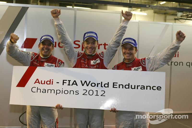 Fässler, Lotterer and Tréluyer are the first WEC Driver World Champions