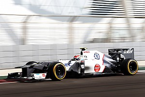 Sauber out of the top ten qualifying for the Abu Dhabi Grand Prix