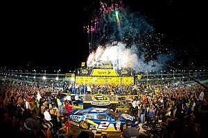 NASCAR Sprint Cup Breaking news Keselowski and Penske celebrate their first Sprint Cup Championship