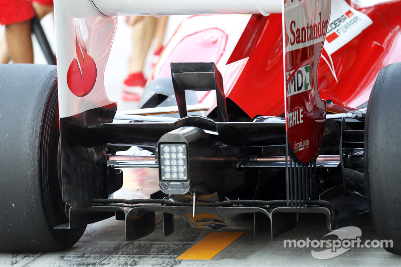 Massa's old diffuser better than Alonso's new in Austin
