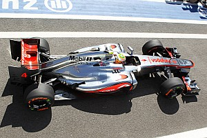 Formula 1 Qualifying report McLaren drivers occupied the front row to start Brazilian GP