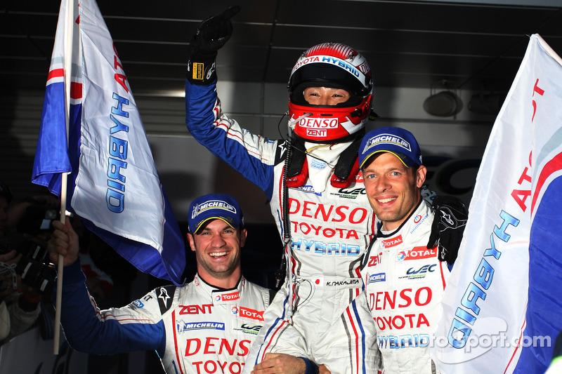 Nicolas Lapierre and the Toyota Hybrid: