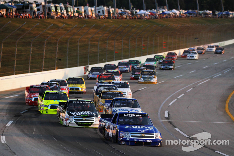 2013 NCWTS schedule highlighted by two new venues