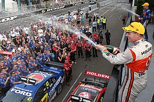 V8 Supercars Race report Lowndes wins entertaining first race in Sydney 500