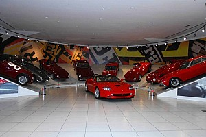 General Breaking news Ferrari showcases the Sergio Pininfarina in Maranello - video