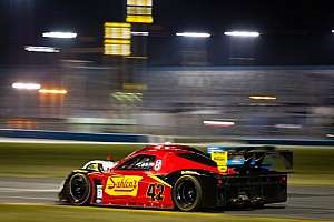 Grand-Am Testing report Team Sahlen leads second day of testing for the Daytona 24H