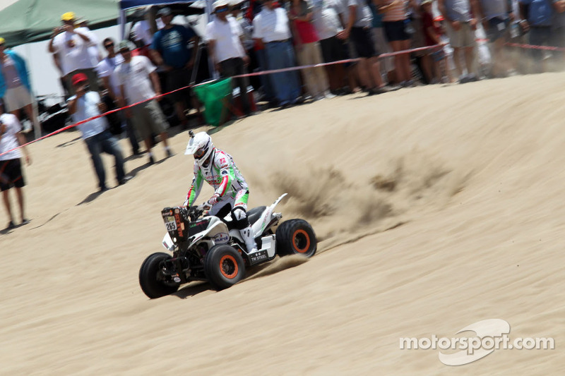 Maxxis Dakar Team's Husseini finishes 2nd place in quads in stage 3