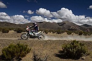 Dakar Stage report Caselli grabs stage 7 Bike win as the riders mourn the loss of Bourgin