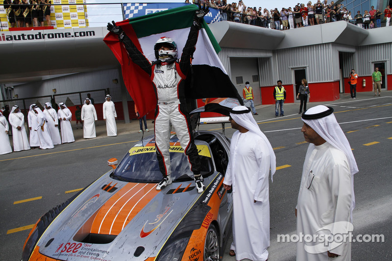 Team Abu Dhabi claims another Dunlop 24H Dubai victory