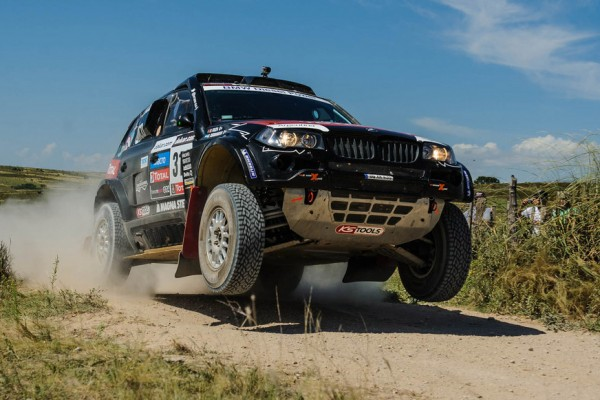 Argentinean Terranova steals the 10th stage in X-raid's BMW X3
