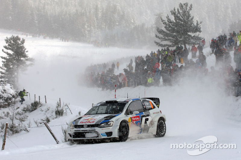 Ogier and Ingrassia maintain second in day 2 of Rallye Monte Carlo