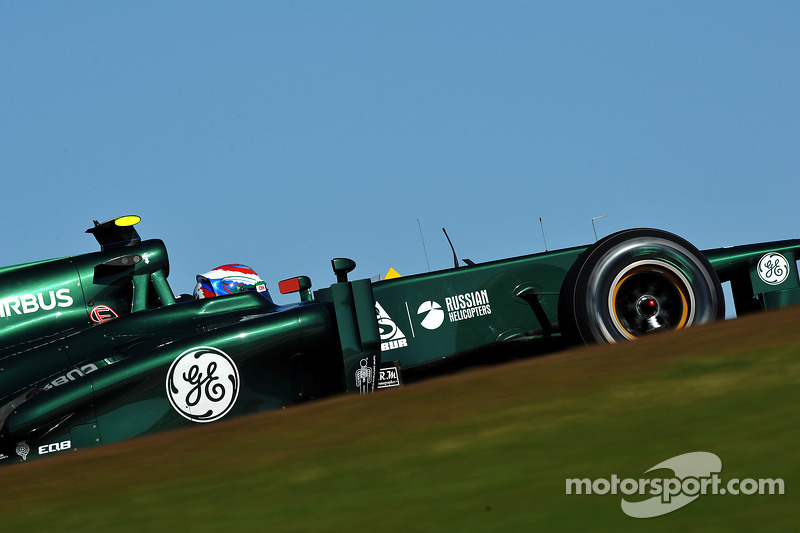 Caterham to launch at Jerez