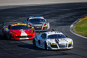 Grand-Am Race report WeatherTech Racing Audi R8 third after 12 hours in Rolex 24 at Daytona