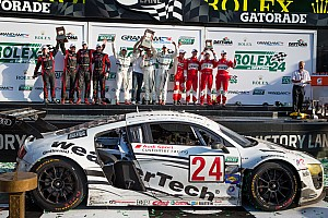 Grand-Am Race report One-two victory for Audi customer teams at Daytona