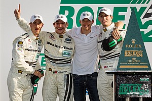Grand-Am Race report von Moltke and Audi stars take Rolex 24 GT victory at Daytona