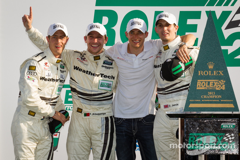 von Moltke and Audi stars take Rolex 24 GT victory at Daytona