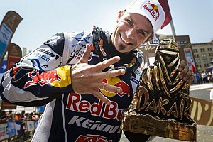 Red Bull celebrates Dakar 2013 victories - video
