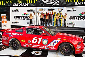 Grand-Am Race report Jack Roush Jr. and Billy Johnson win Continental Tire opener at Daytona