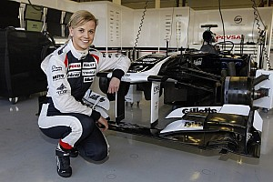 Formula 1 Breaking news Susie Wolff to debut Williams' 2013 car