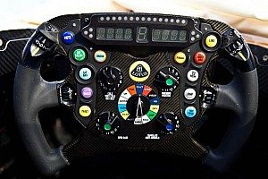 Formula 1 Blog Raikkonen and Grosjean: Steering wheels with a sense of humor