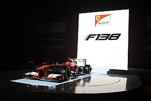 Formula 1 Breaking news Ferrari presents stunning new F138