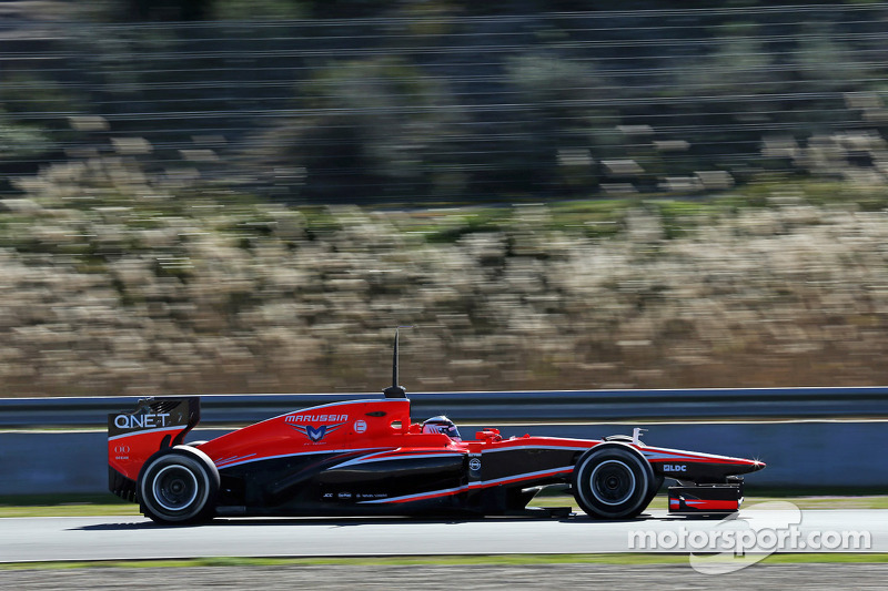 Marussia and Chilton has productive day three at Jerez testing