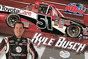 NASCAR Truck Breaking news Toyota Care to sponsor 10 races on KBM Tundra