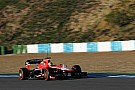 Razia concluded the Marussia MR02 pre-season test at the Circuito de Jerez