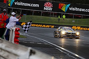 Endurance Race report Erebus Motorsport SLS AMG GT3 wins Bathurst 12 Hour