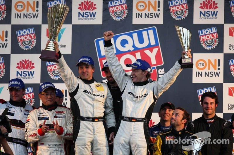 Erebus Motorsport SLS AMG GT3 wins Bathurst 12 Hour