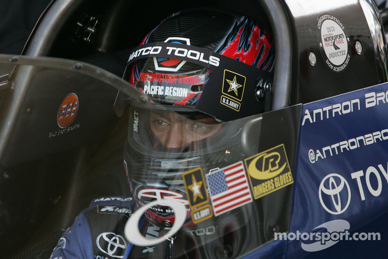 Antron Brown ready to move foward at Phoenix