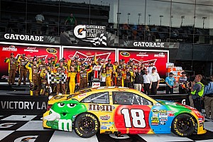NASCAR Sprint Cup Race report Kyle Busch and other Toyota drivers comment on Daytona Duels