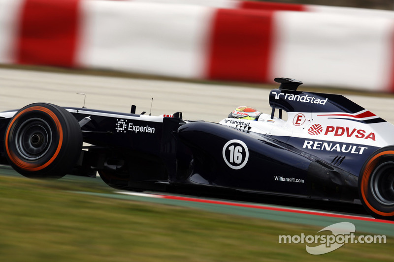 Maldonado and Bottas log 147 laps on day three testing in Barcelona