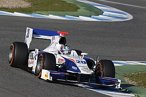 GP2 Testing report Positive three days tests in Jerez for Trident Racing