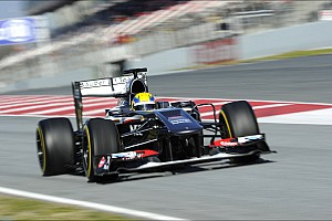 Sauber simulated qualifying and race conditions at Circuit de Catalunya