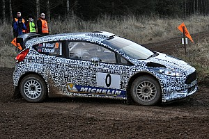 WRC Breaking news Ford Fiesta R5 impresses on first public outing