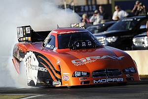 NHRA Preview Funny Car driver Johnny Gray eager to start and turn on win lights at Gatornationals