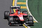 Good job for Marussia's drivers in their first Friday practice at Albert Park Circuit
