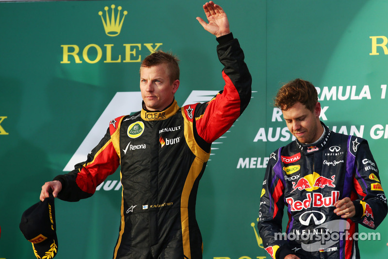 Renault powers Lotus F1 Team and Raikkonen to Australian GP victory