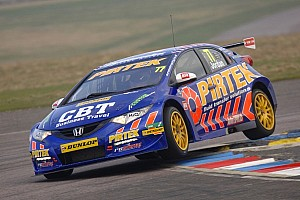 BTCC Testing report Honda driver Jordan sets fastest lap of official test day at Donington Park