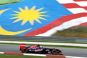 Formula 1 Practice report Toro Rosso drivers quotes after Friday practice at Sepang